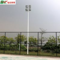 汕头室外篮球场灯杆批发 6米路灯杆价格 灯杆灯柱喷氟碳漆防锈