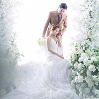 重庆南岸区婚纱照小清新婚纱摄影唯美风格婚纱照