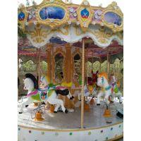 16座转马游乐设备 户外广场电动豪华转马 好玩的儿童游艺设施转马玩具