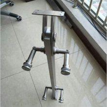 耀恒 商城建筑玻璃拦板侧家装扶手栏杆 优质钢化玻璃立柱