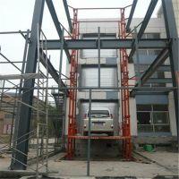 河北货梯厂家 安国液压升降货梯 工厂导轨式升降货梯