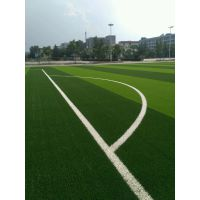【人造草坪足球场施工】细节—博纳人造草坪
