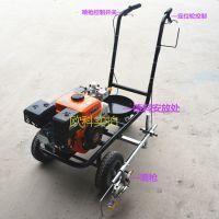 斑马线划线机 自动画线机冷喷道路划线机