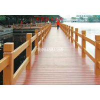 山东青岛水泥仿木护栏 仿木栏杆制造商