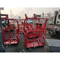厂家直销1.5米吊车专用吊篮自动调节平衡