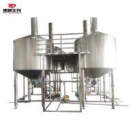 德酿生物精酿啤酒设备设备生产线 厂家直销不锈钢发酵罐 清酒罐