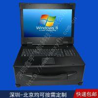 17寸新款4U外壳军工加固笔记本电脑机箱定制工业便携机一体机采集