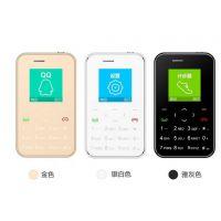 蓝牙拨号 i6小手机触控按键袖珍迷你超薄彩屏QQ卡片手机