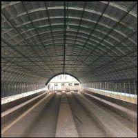 新旺兴农种植大棚建设8303热镀锌钢架大棚