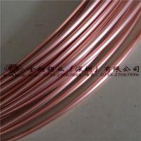 【金铜铝业】广东TP2紫铜管 紫铜盘管 空调专用铜管 毛细铜管 5*0.5mm 6*1mm