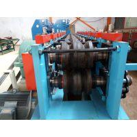 废旧架子管压扁机 圆管压方管机 河北兴益机械厂行业领先