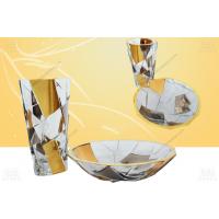 意大利原装进口GOLD LINE宝石镶嵌酒杯礼盒套装