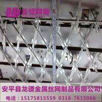 防攀爬刺网 刺丝网厂家 刺绳支架