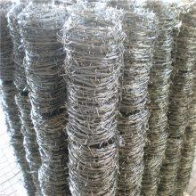 围墙用的刺绳多钱一米 刺绳护栏图片 刺网安装