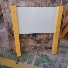 河北玻璃钢双立柱警示牌生产厂家1200*1000复合材料双柱警示牌品牌_润飞