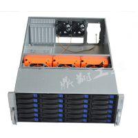 4U热插拔机箱4U服务器机箱工控机箱24个热插拔硬盘位