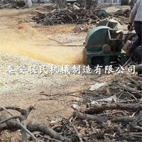 泰安联民供应 柴油木材木屑机/柴油大型木材削片机