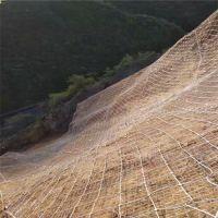 柔性防护网材料检测@安首边坡防护网生产厂家