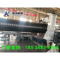 洛阳国润橡塑钢带增强PE螺旋波纹管要求