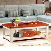 木架布沙发小户型实木转角带茶几组合客厅家具厂家直销