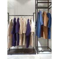 广州女装品牌折扣|批发货源|厂家直销阿尔巴卡大衣羊驼绒大衣