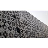 墙面雕刻铝扣板 商场门头镂空铝板装饰 铝板烤漆雕花造型