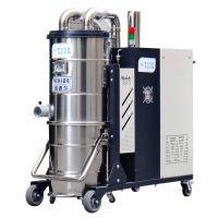 地坪研磨机配套吸粉尘用威德尔380V大功率自动反吹工业吸尘器