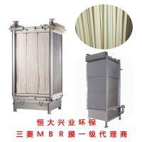 工业区生活废水处理帘式膜三菱MBR膜生物反应器60E0025SA