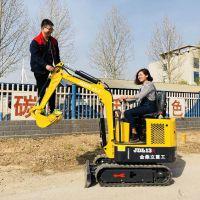 金鼎立超小挖机能在果园施工 除草,唐山滦县施工用的微挖机