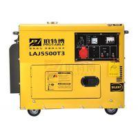 珀特博三相5KW静音柴油发电机价格