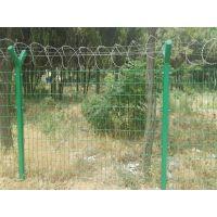 沃达供应Y型柱护栏  蛇腹型刀片刺绳围栏 防攀爬防护网