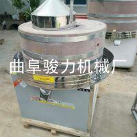 商用不同规格 电动石磨豆浆机 芝麻酱香油电动石磨机 骏力 加工定做