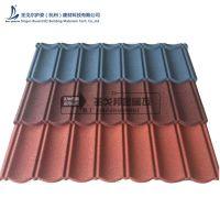 杭州居民高档别墅金属瓦屋顶金瓦檐板安装