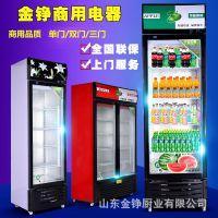 超市饮料展示柜 双门单门啤酒柜 冷饮保鲜展示柜 冷藏立式冰柜
