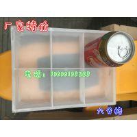 厂家特价塑料分类盒,工厂零件盒多格六格分格箱