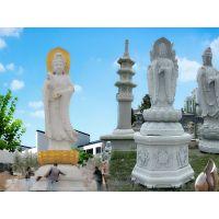 石雕观音菩萨的样式有哪些-嘉祥长城石雕厂