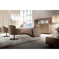 意大利GIORGIO COLLECTION新古典家具品牌客厅双人半圆沙发电视柜