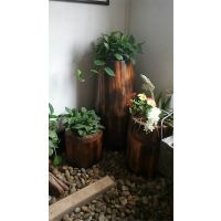 大量供应品木碳化木花箱