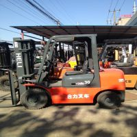 电动柴油叉车3吨4吨二手合力杭州,高门架叉车夹抱