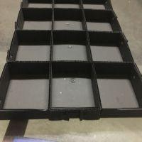 厂家直销东莞长安电子厂塑料万通隔板中空塑胶瓦楞板 平板刀卡