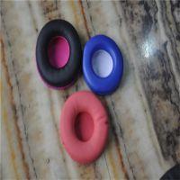 来图样订做高端吸音海绵蛋白质耳机套 车缝电压加工