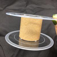 透明10*4线盘塑料绕线盘注塑工字轮花边用塑胶卷线轴环保材质