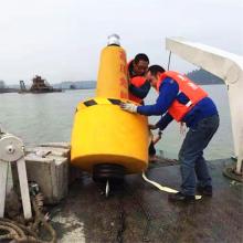 警示用浮标 海洋导航灯浮 滚塑海洋浮球