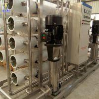 6吨双级反渗透水处理主机 纯净水设备报价 安徽新科 价格优惠