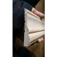 实木腰线 无节白腊木腰线SLK-80-22佛山斯柏林装饰材料批发