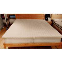 富柔纯色薄型本草安神床垫安神助眠抗菌除螨的富柔竹茹床垫