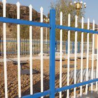 钿汇鑫筛网主营产品厂区锌钢护栏铁艺护栏0.7*3白色别墅小区隔离栅栏