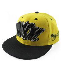 厂家定做字母立体刺绣平沿嘻哈棒球帽 客户提供logo定制员工帽