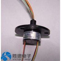 6通路标准帽式滑环 监控设备滑环