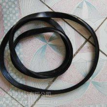 承插管橡胶圈DN300管道橡胶圈价格排水管胶圈 加工订做